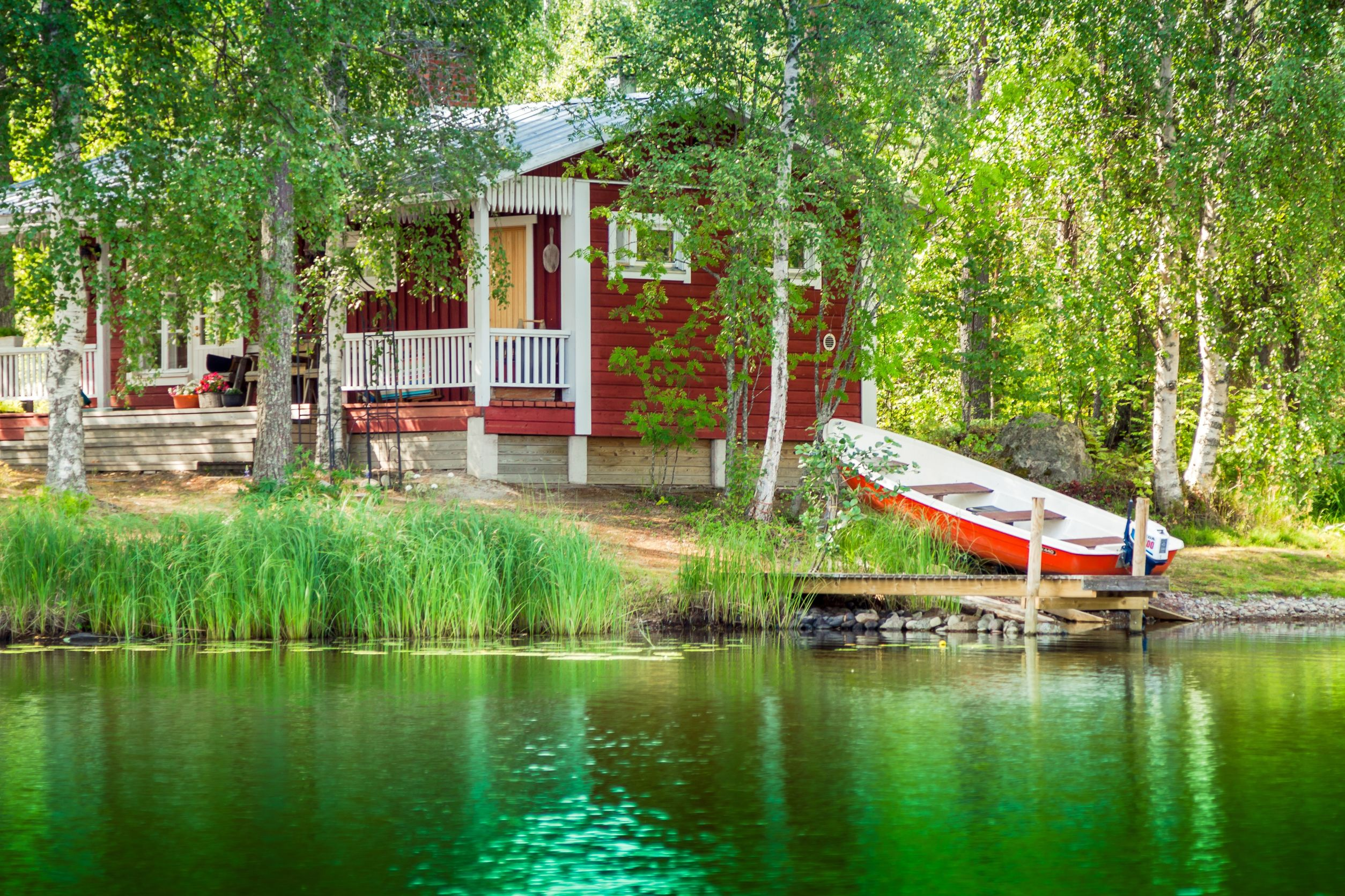 rental house at the lake